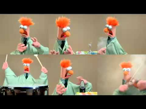 beaker aus der muppets show singt meept ode an die freude song to joy youtube. Black Bedroom Furniture Sets. Home Design Ideas
