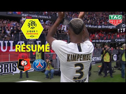 Stade Rennais FC - Paris Saint-Germain ( 1-3 ) - Résumé - (SRFC - PARIS) / 2018-19