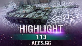 Мудрец снова в деле! 113 в World of Tanks!