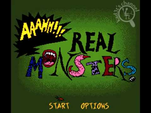 IntroSNES Aaahh!!! Real Monsters