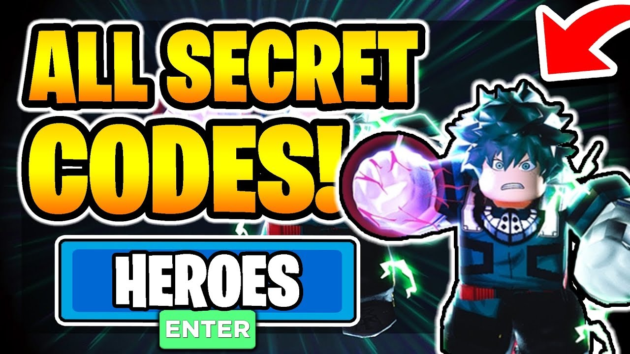 All New Secret Working Codes In Heroes Online 2020 Roblox