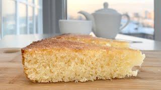 МАННИК. Пирог на сметане. Вкусный Манник без муки в духовке. Простой  рецепт.