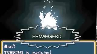 Evolving Nidorino - Pokemon Fire Red Poison Mono Type