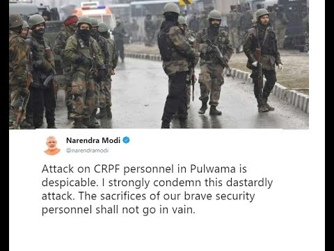 Pulwama attack on CRPF Jawans 43 reported martyrs