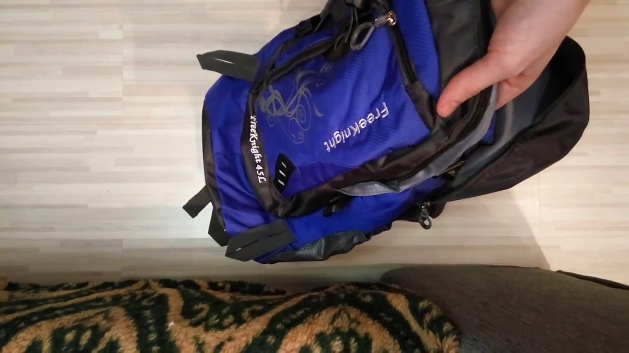 75d249cea5b2 FREEKNIGHT FK0216 Backpack - YouTube