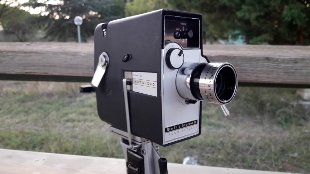 8Mm Vintage Camera working 8mm vintage camera from the 60s