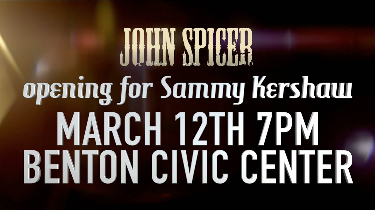 BENTON CIVIC CENTER MARCH 12!