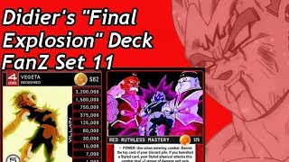 CHAMPIONSHIP DECK Majin Vegeta Red Ruthless Deck List