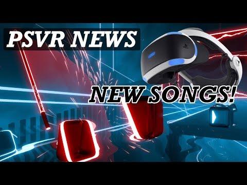 PSVR NEWS | Beat Saber New Songs DLC Latest Info | Prey PSVR DLC | Borderlands 2 VR Latest thumbnail