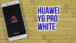 Розпакування Huawei Y6 Pro TIT-U02 White