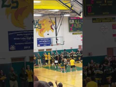 Wilde lake high school basketball game
