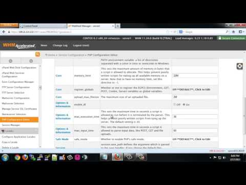 Complete WHM cPanel setup with litespeed web server   YouTube