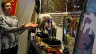 Välkommen till vår butik; airsoftsatsningen