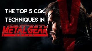martial gamer the top 5 cqc moves in the metal gear solid series real life demonstration