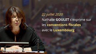 Nathalie GOULET s'exprime sur les conventions fiscales avec le Luxembourg