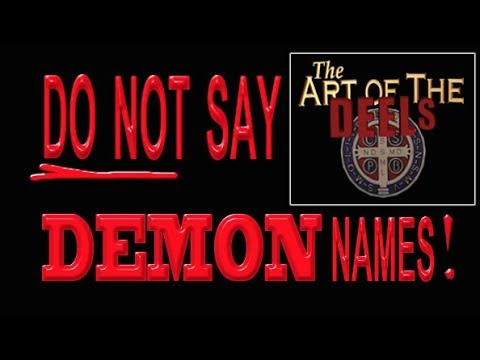 Demon Names And Meanings