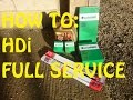 HOW TO: Full service, Peugeot HDi, Citroen