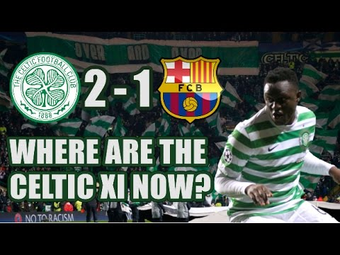 Celtic XI That Beat Barcelona In 2012: Where Are They Now?