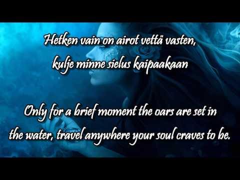 Vettä vasten w/lyrics (english, finnish) - Indica