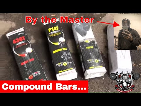 What bars to use when polishing aluminum - compound bars