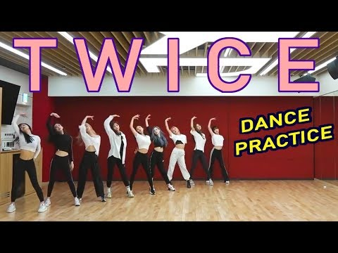 Twice DANCE PRACTICE - all title track highlights compilation