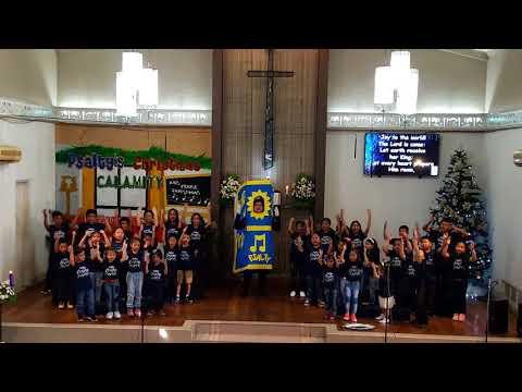 Psalty's Christmas Calamity - JOY TO THE WORLD - Marikina United Methodist Church Children's Choir