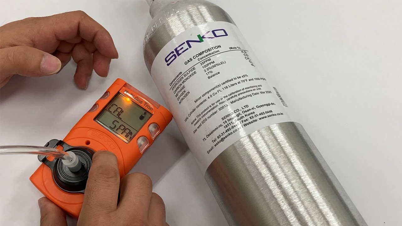 SENKO MGT-P/N Multi 4 Gas Detector - Quick Start Video - Product Overview & Calibration