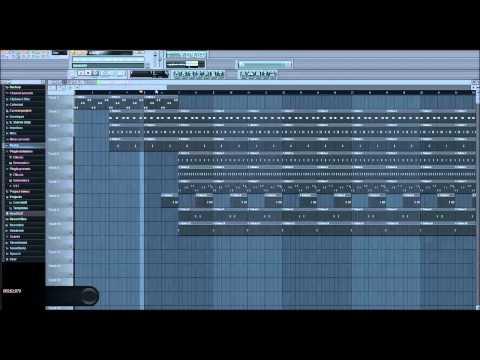Hip hop Crunk beat w/ tutorial FL studio FLP