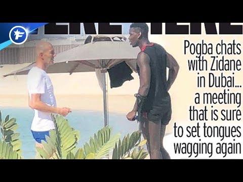 La rencontre Pogba-Zidane qui met le feu à l'Angleterre | Revue de presse