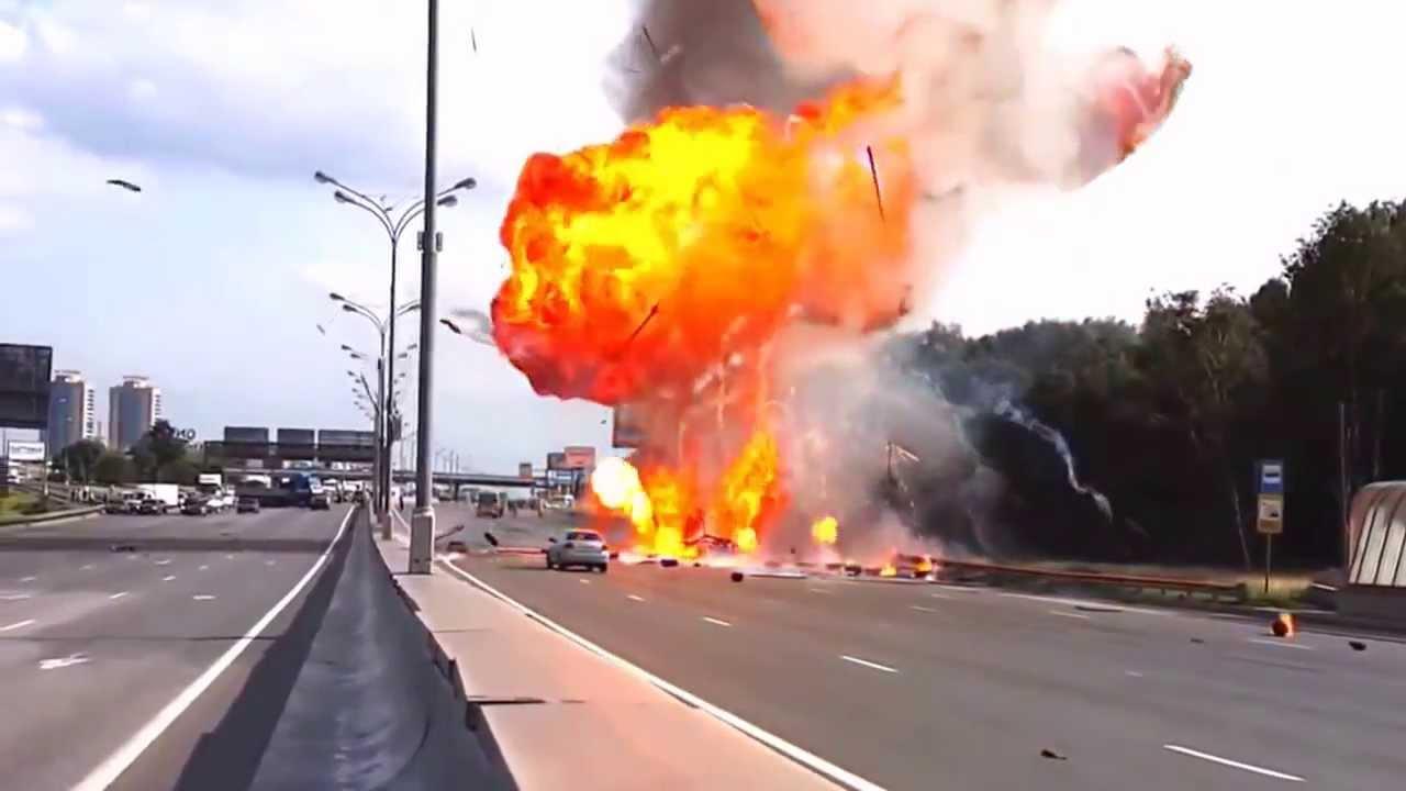 Hazmat Highway to HAZMAT Hell Russian truck driver crashes truck – Hazmat Driver