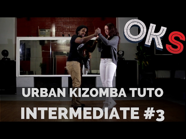 Urban Kizomba Tutorial - Intermediate Move #UI3 🎓 OKS 🎓