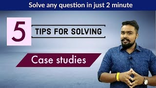 How to solve case studies business studies class 12