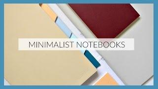 Minimalist Notebooks // mishmash
