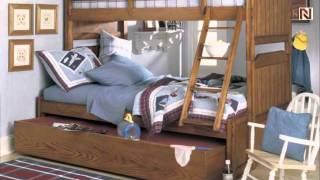 Lea 302-976r 3/3 Twin Bunk Bed From Jackson Creek