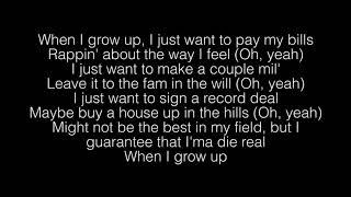 NF- When I Grow Up Lyrics