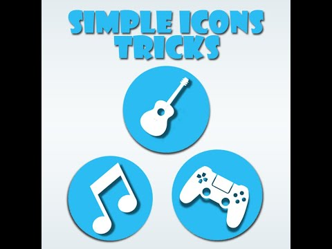 How To Create A Simple Icon In Photoshop