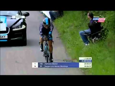 Tour de Suisse 2015 HD - Stage 5 - FINAL KILOMETERS