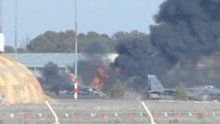 10 dead: Greek fighter jet crashes during NATO training