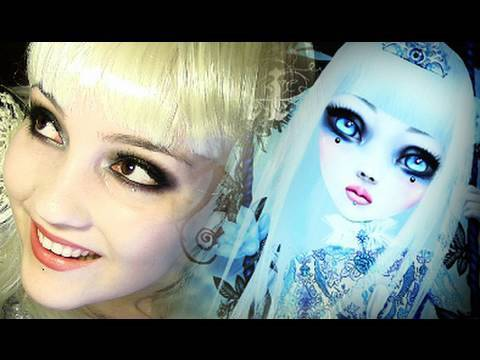Kerli Walking On Air Makeup