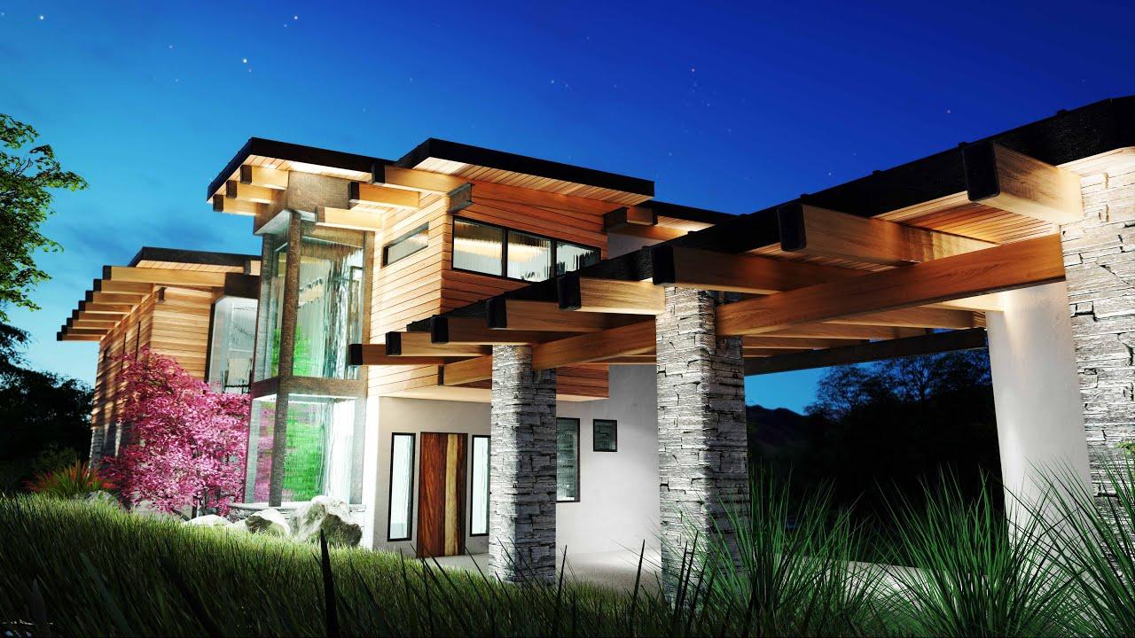 Lumion 6 5 dream home animation inceptus studio youtube for Dream house studios