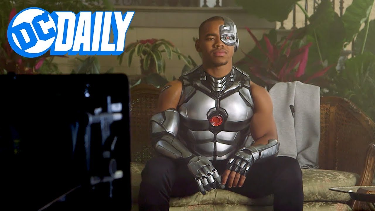 Dc Daily Ep 137 Behind The Scenes Of Cyborg With Joivan Wade