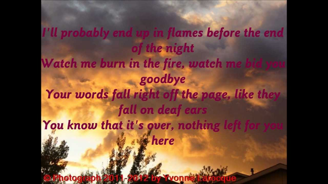 Writers for hire up in flames lyrics