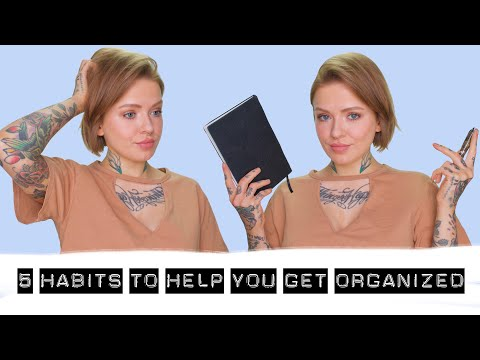 5 HABITS FOR ORGANIZATION | ADHD brains