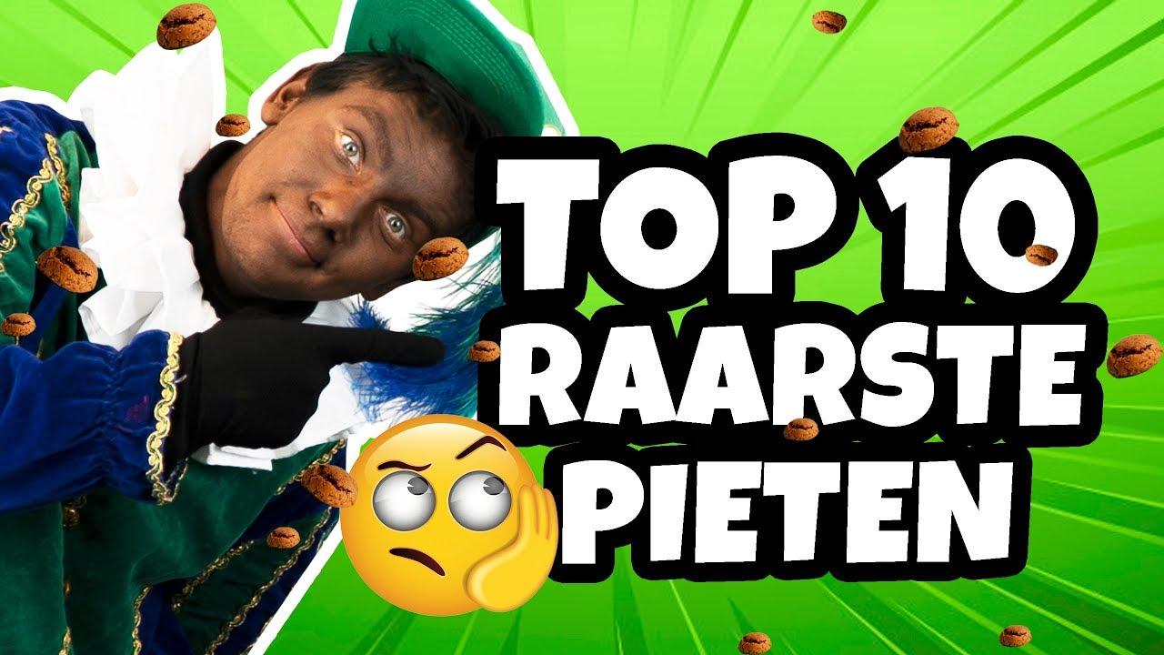 TOP 10 RAARSTE PIETEN!! 🤪 - STRESS PIET