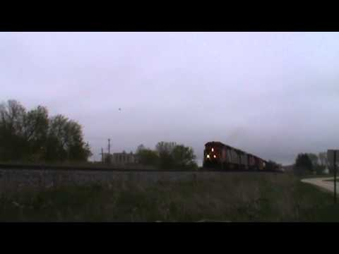 5 Red-Wing Blackbirds at Ackerville, Wisconsin (5/14/11)