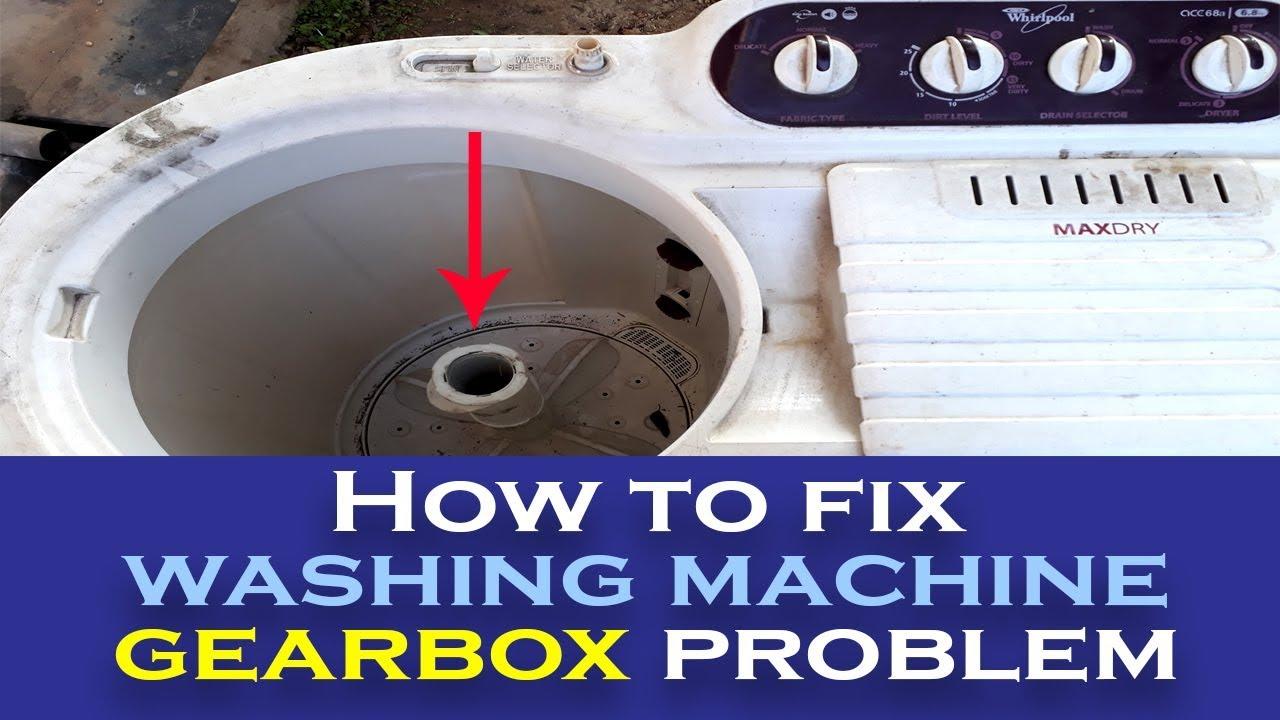 How To Fix Washing Machine Gearbox Problem Youtube Toshiba Wiring Diagram