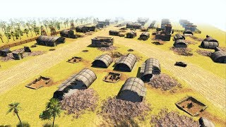 1944 Pacific Airfield Captured by US Marine Corps at Saipan   Men of War: Assault Squad 2 Gameplay
