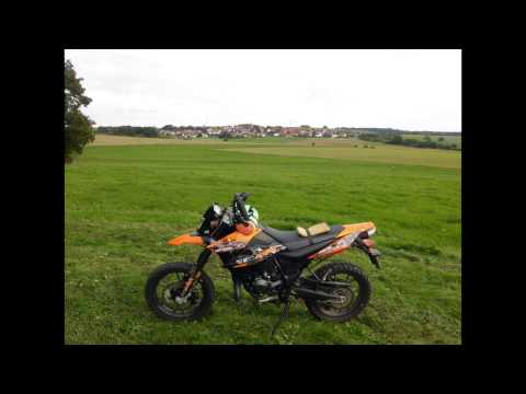 "My new little KSR Moto TR 50 SM ""rolling walker""  -first Rides-"