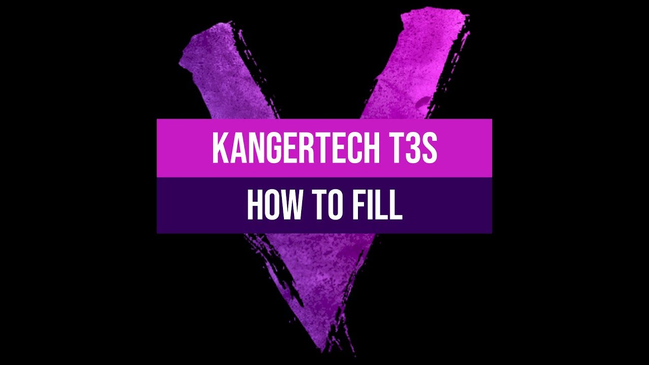 How To Fill A Kanger T3s Clearomiser