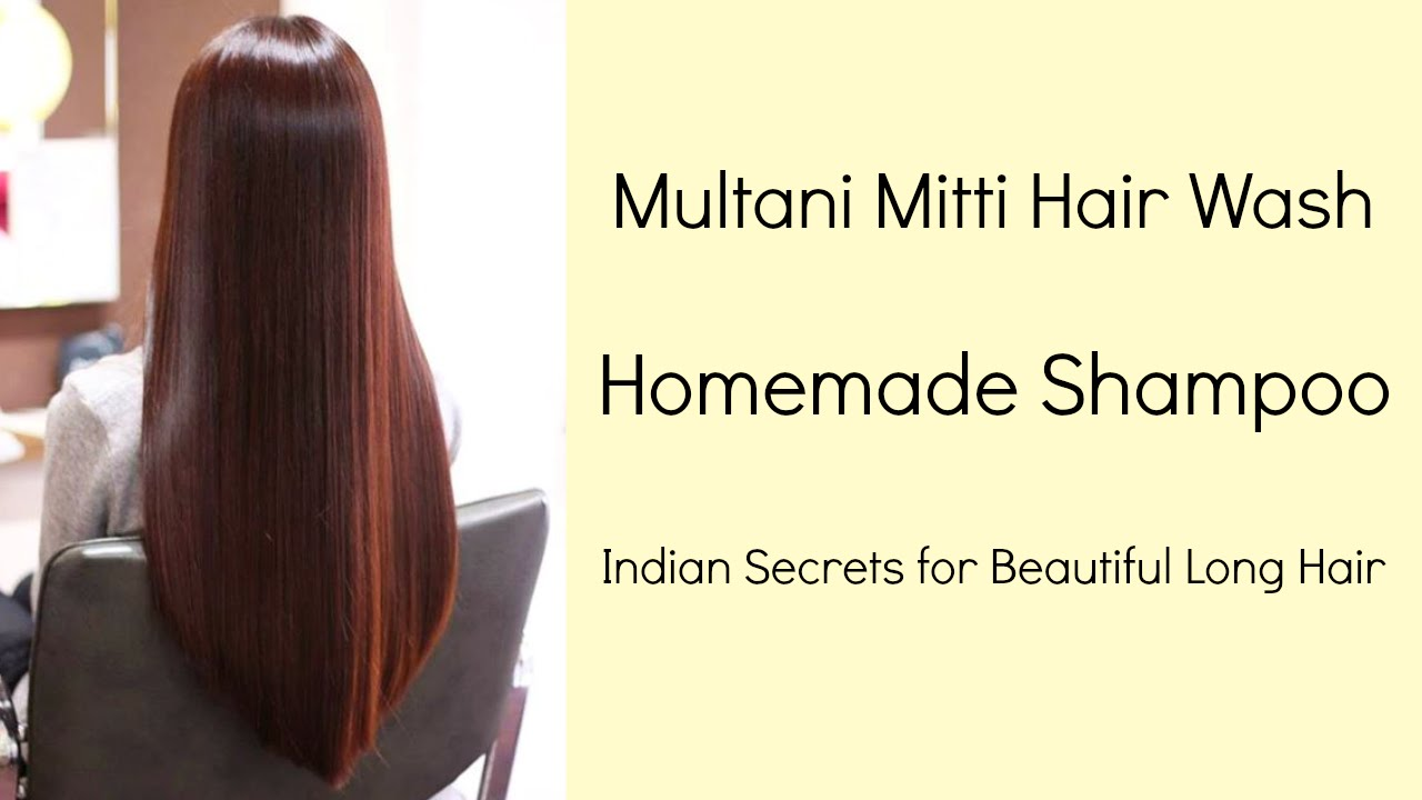 Multani Mitti Hair Wash Natural Homemade Shampoo Multani Mitti